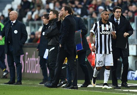 Vidal tantrum part of football - Allegri