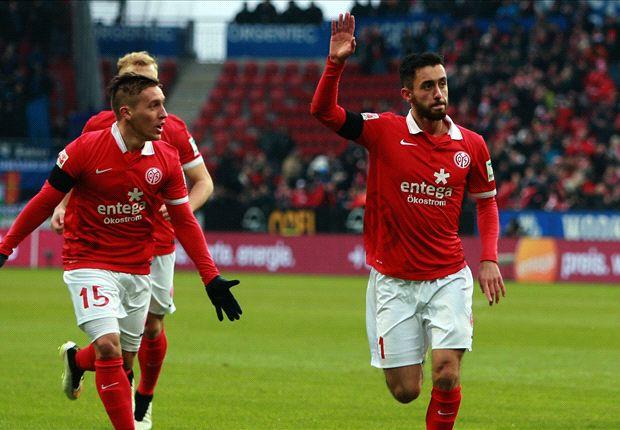 Yunus Malli traf beim Sieg über Paderborn doppelt