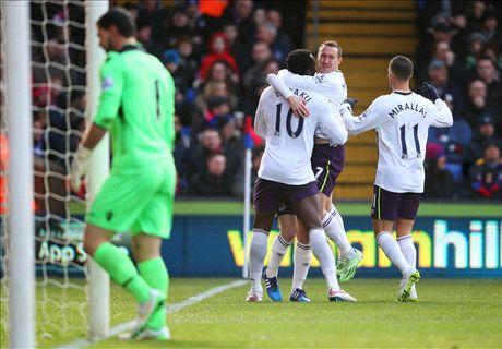 LIVE: Crystal Palace 0-1 Everton