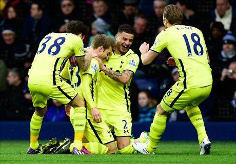 Player Ratings: West Brom 0-3 Tottenham