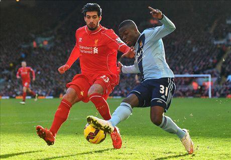 LIVE: Liverpool 1-0 West Ham