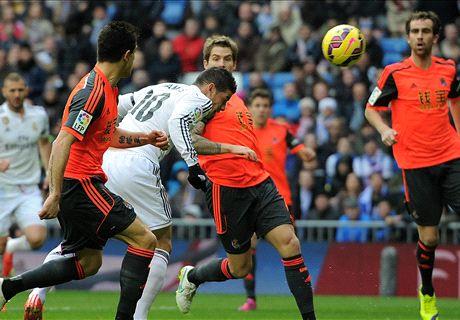 LIVE: Real Madrid 3-1 Real Sociedad