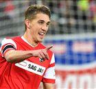Petersen schießt Frankfurt ab