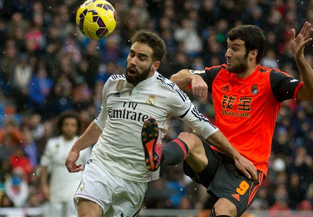 Real Madrid 4-1 Real Sociedad: Benzema at the double as hosts fight back