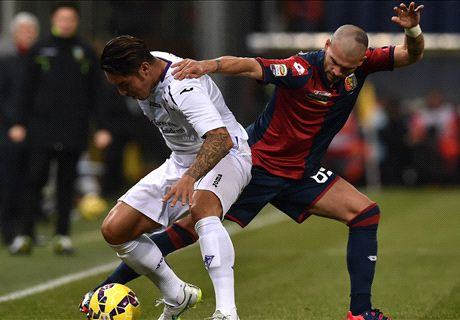 Gonzalo salva la Viola, è pari col Genoa