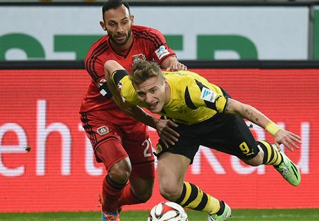 Dortmund held by Leverkusen