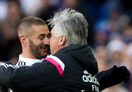 Ancelotti lauds 'fantastic' Benzema
