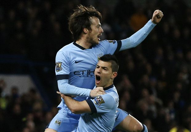 Chelsea 1-1 Manchester City: Silva salvages a point for the champions