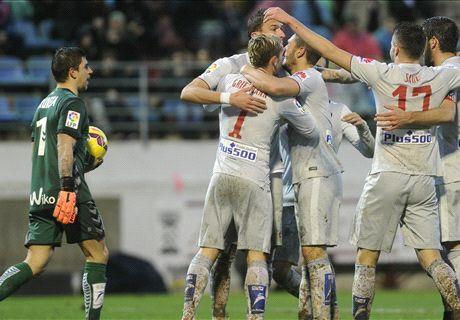 Atlético wervelt in beginfase voorbij Eibar