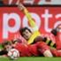 Die Winterpause ist vorbei - und es geht wieder in der Bundesliga rund! So wie sich hier Leverkusens Kießling (l.) und Dortmunds Hummels duellieren, ging es auch auf den anderen Plätzen zur Sache. Wir haben die besten Bilder!