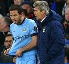 Pellegrini frustrated by Chelsea tactics