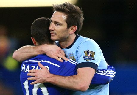 Lampard thankful for Chelsea ovation