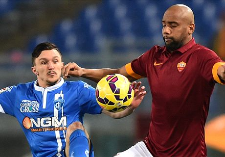 Roma 1-1 Empoli: Another stumble