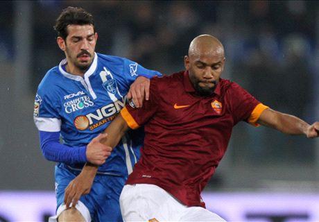 Player Ratings: Roma 1-1 Empoli