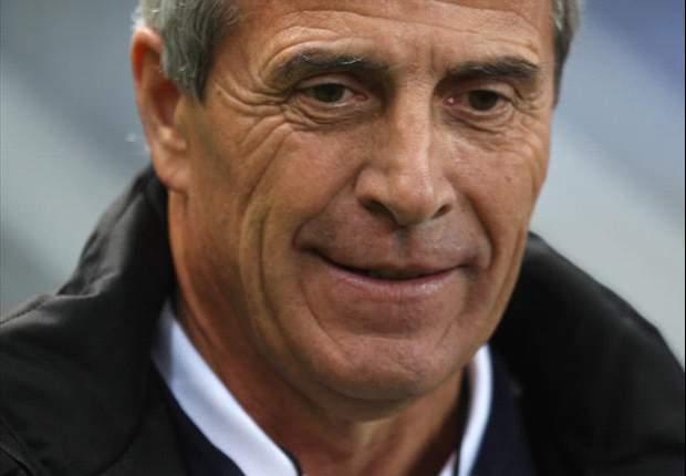 Uruguay coach Oscar Tabarez hails Luis Suarez as an 'elite player' after brace against Peru