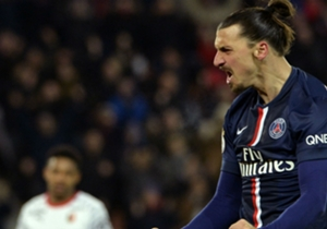 Zlatan Ibrahimovic Paris SG Rennes Ligue 1 30012015