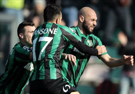 Inter slump to Sassuolo defeat