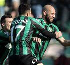Inter slump to Sassuolo defeat