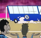 Cartoon: Mourinho parks the bus