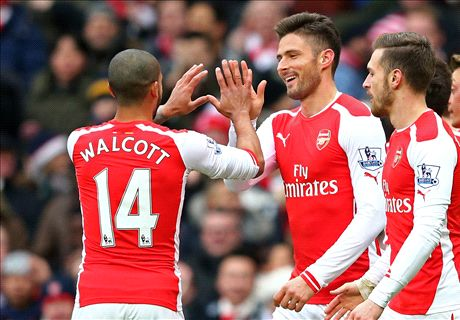 Premier League: Arsenal 5-0 Aston Villa