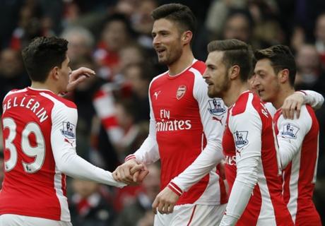Furieus Arsenal rekent af met Villa