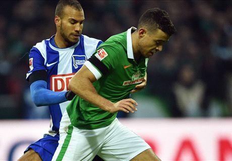 Di-Santo-Doppelpack lässt Werder jubeln