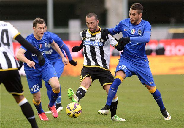 Juventus und Udinese beharkten sich ohne Kompromisse