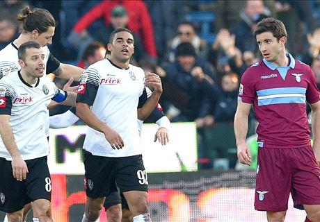 Sussulto Cesena, Defrel ferma la Lazio