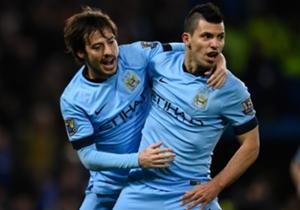 David Silva y Jesús Navas (Manchester City) | El sevillano fue uno de los hombres más activos del equipo y el canario marcó un gol providencial para los 'Citizens' en Stamford Bridge.