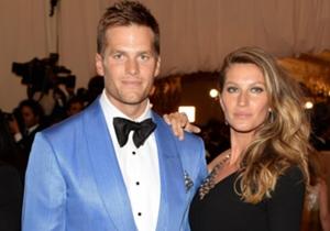 Gisele Bundchen y Tom Brady una pareja modelo.