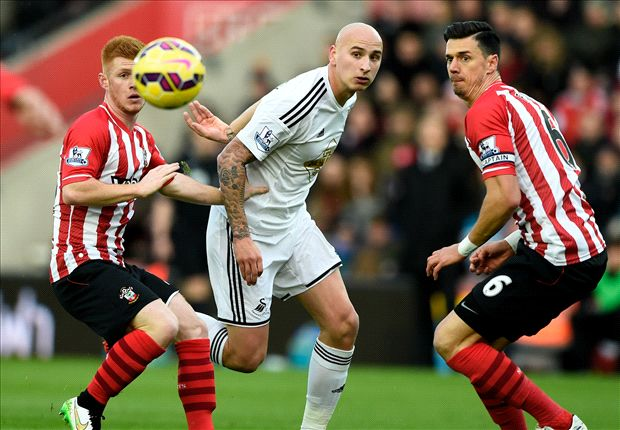 Southampton 0-1 Swansea City: Shelvey scorcher downs 10-man Saints