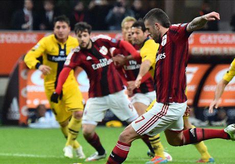 Report: AC Milan 3-1 Parma