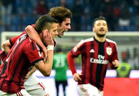 Il Parma dura 45', il Milan rivede la luce