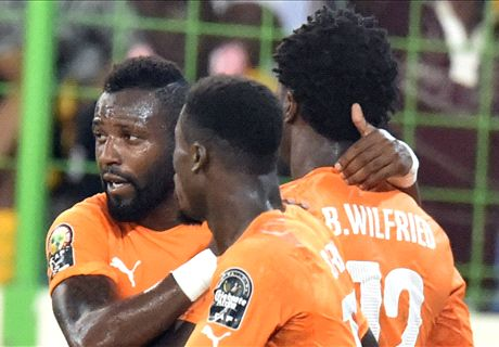 Bony strikes twice for Ivory Coast