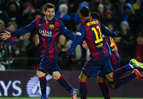 El Barça no pierde pisada (3-2)
