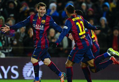 Barcelona Bekap Villarreal