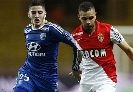 Monaco & Lyon Berbagi Poin