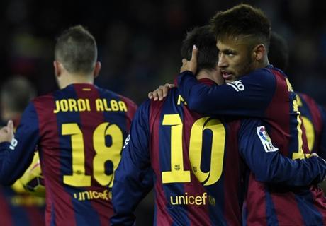 Barça in bloedgang langs Villarreal