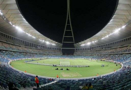 Moses Mabhida Stadium game time - Durban