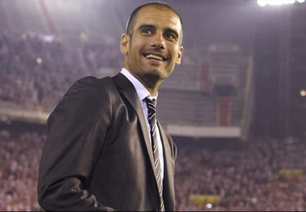 Barcelona Coach Pep Guardiola Delighted With Malaga Win