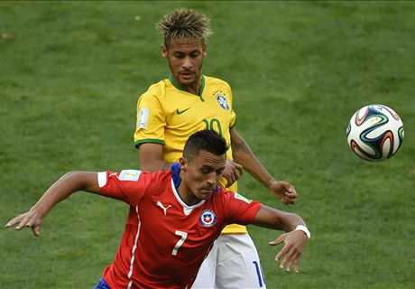 Alexis Sanchez eyes Neymar showdown