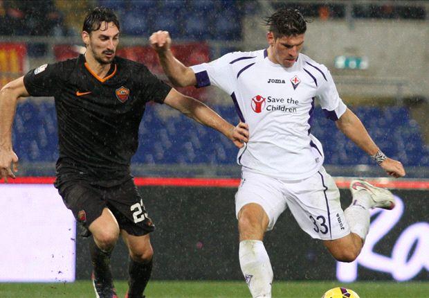 AS Rome 0-2 Fiorentina