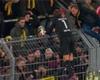 Los jugadores del Dortmund piden perdón a sus hinchas tras otra derrota