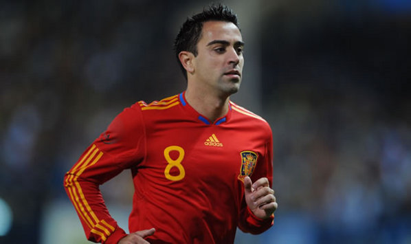 Xavi, Spain (Getty Images)