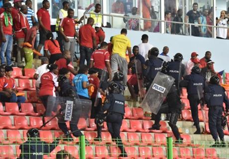 Violenta y caótica semifinal africana