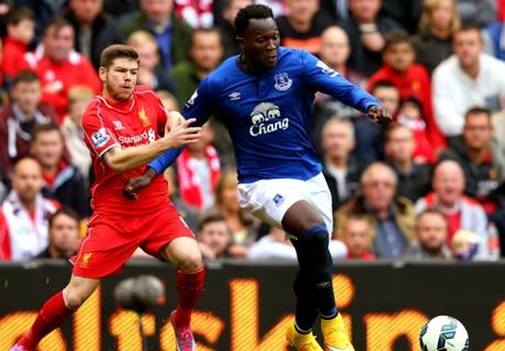 Opstellingen: Everton - Liverpool