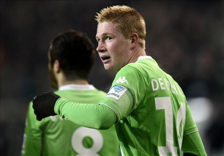 Where will De Bruyne fit in at Man City?