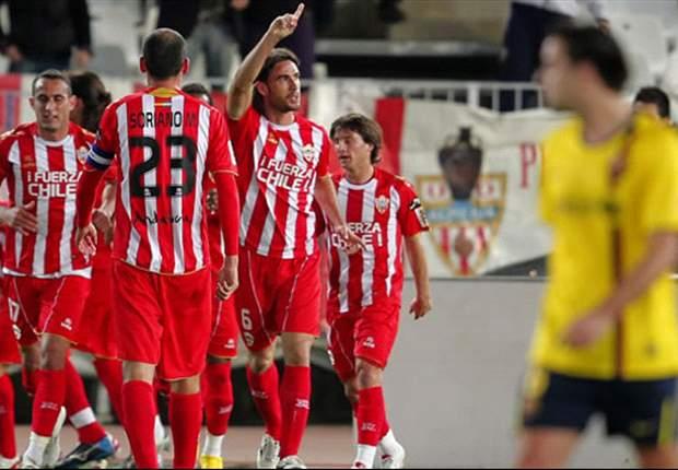 Girona 0-1 Almería: Charles vale su peso en oro