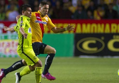 Liga MX: Morelia 2-2 América