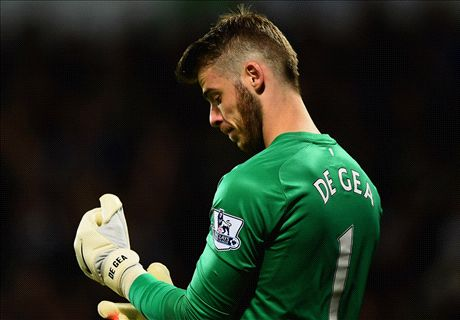 De Gea named in Man Utd's CL squad